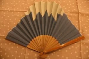 ③富士山扇子
