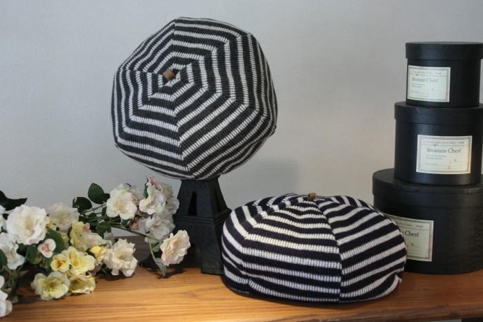 ②ベレー帽