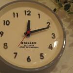 スタジオエム 陶器の掛け時計