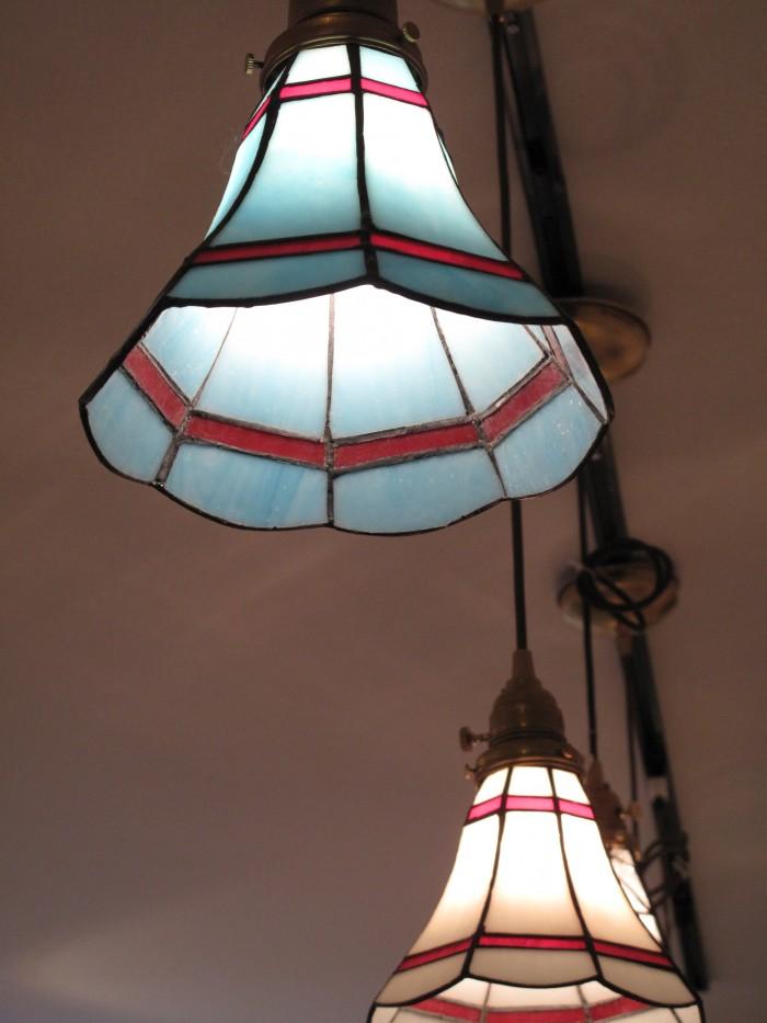 ④ステンドグラスライト