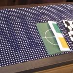 「かまわぬ」2014年サッカーW杯記念てぬぐい