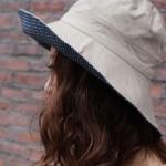 リバーシブルUVケア帽子