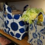 花柄 収納バッグ