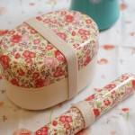 花柄弁当箱 箸