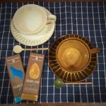 粉引きカップ&ソーサ―