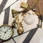 アンティークネックレス懐中時計