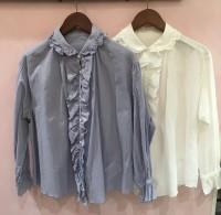duex blue シャツ